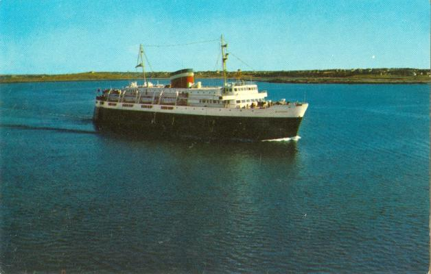 how to get to nova scotia from bar harbor maine