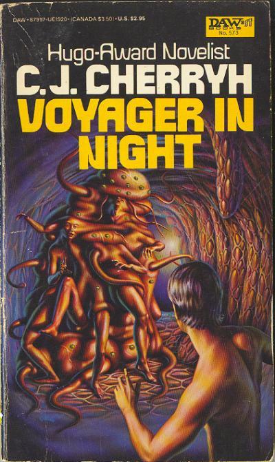 Daw 573 C J Cherryh Voyager In Night 1984 Ebay