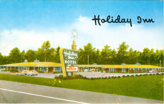 Holiday Inn, Jackson, Mississippi 1950s chrome postcard ~ Published by ...