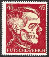 Futsches Reich 45 Hitler Deaths Head